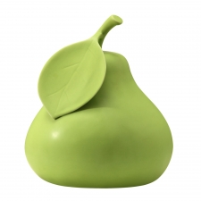 Pear Sculpture, Green