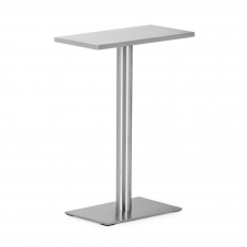 Mclaren Console Table, Stainless Steel