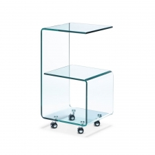 Armstrong Side Table, Glass