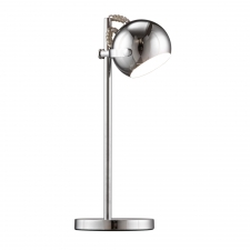 Davis Table Lamp, Chrome