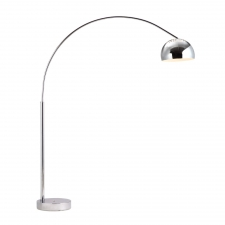 Wallace Floor Lamp, Chrome