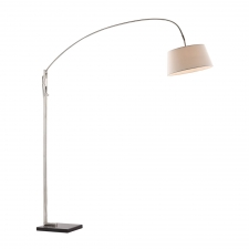 Rivera Floor Lamp, Beige