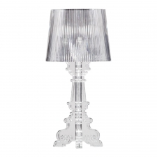 S Table Lamp, Clear