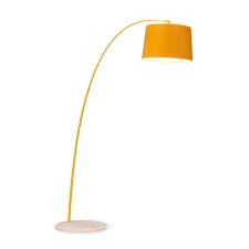 Kearney Floor Lamp, Yellow