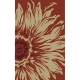 Flora Outdoor Rug, Poppy