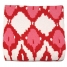 Eco-Friendly Ikat Throw, Red made by Throw Blankets.