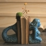 Ceramic Mermaid Bookends, Turquoise made by Charming Rustic Accents.