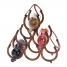 6-Bottle Horseshoe Wine Rack made by Countryside Finds.