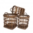 Willow Antwerp Baskets, Set of 3 made by White x White.